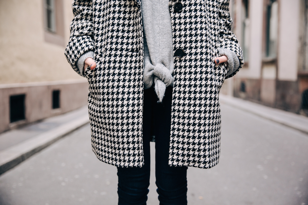 Le manteau pied-de-poule