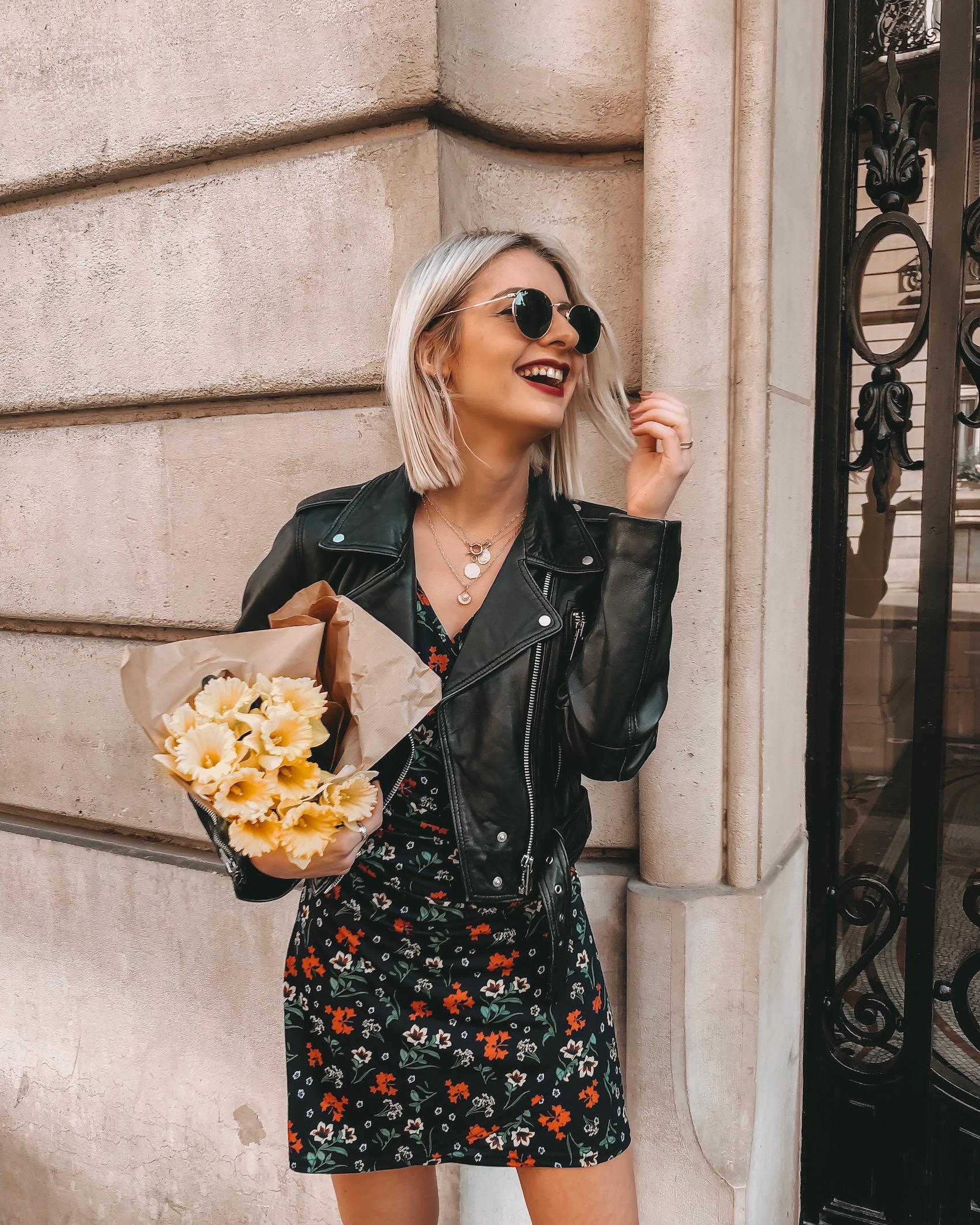 robe fleurie tissaia