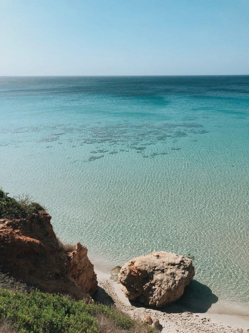 platja de binigaus minorque