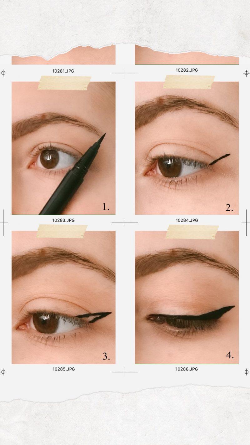 tuto eyeliner blog